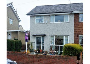 Thumbnail 4 bed semi-detached house for sale in Coetmor Road, Bangor
