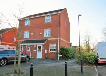 Thumbnail 3 bed town house for sale in Witnell Road, Coventry