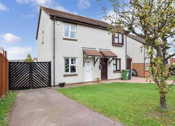 Thumbnail 2 bed semi-detached house for sale in Redsells Close, Downswood, Maidstone, Kent