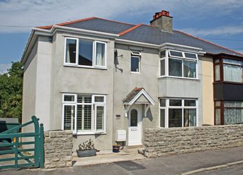 Thumbnail 4 bed semi-detached house for sale in Kings Road West, Kings Road West, Swanage
