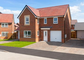 "Thumbnail 4 bed detached house for sale in ""Halton"" at Bedewell Industrial Park, Hebburn"