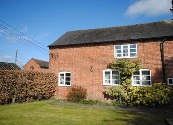 Thumbnail 1 bed end terrace house to rent in Pershall, Eccleshall, Stafford