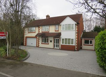 Thumbnail 4 bed detached house for sale in Oak Vale, West End, Southampton