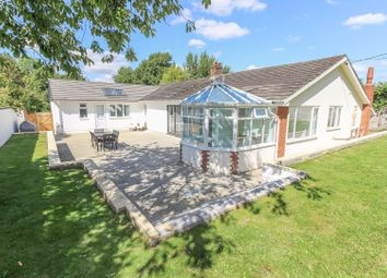 Thumbnail 4 bed detached bungalow for sale in Lovell Close, Thruxton