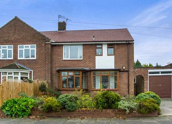 Thumbnail 3 bed semi-detached house for sale in Summerhill Avenue, North Gosforth, Newcastle Upon Tyne