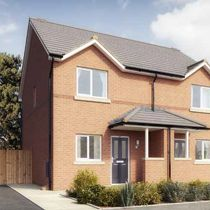 Thumbnail 2 bed semi-detached house for sale in The Tatton, Green Bank, Windermere Road - Plot 142, Middleton, Manchester