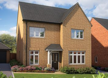"Thumbnail 4 bed detached house for sale in ""The Aspen"" at Irthlingborough Road, Wellingborough"