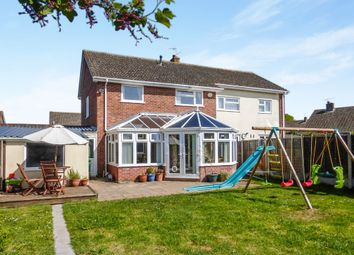 Thumbnail 3 bed semi-detached house for sale in Long Lakes, Williton, Taunton