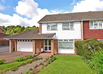 Thumbnail 3 bed end terrace house for sale in Brendon Avenue, Chatham, Kent