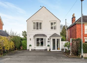 Thumbnail 3 bed detached house for sale in Leighton Road, Uttoxeter