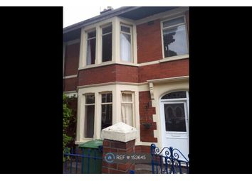 Thumbnail 3 bed terraced house to rent in Corporation Road, Cardiff
