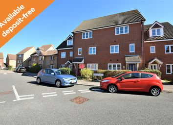 Thumbnail 3 bed terraced house to rent in Percival Close, Lee-On-The-Solent, Hampshire