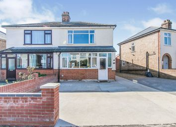 Thumbnail 3 bed semi-detached house for sale in Bernard Crescent, Ipswich