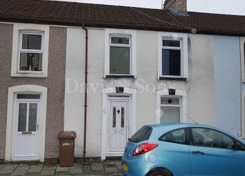 Thumbnail 3 bed terraced house for sale in Railway Terrace, Abercarn, Newport.