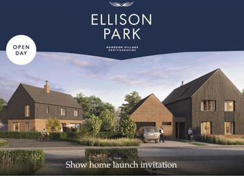 Thumbnail 4 bed detached house for sale in The Searle, Hunsdon, Hertfordshire