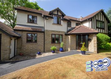 Thumbnail 4 bed detached house to rent in Crescent View, Alwoodley, Leeds