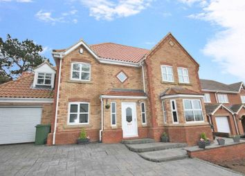 Thumbnail 5 bed detached house for sale in Fircroft Court, Loftus, Saltburn-By-The-Sea