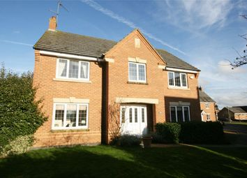 Thumbnail 4 bed detached house for sale in Gladiator Close, Wootton Fields, Northampton