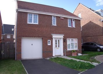 Thumbnail 4 bed detached house to rent in Elvaston Crescent, Central Grange, Gosforth, Newcastle Upon Tyne