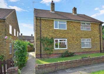 Thumbnail 3 bed semi-detached house for sale in Lyminge Close, Twydall, Gillingham, Kent