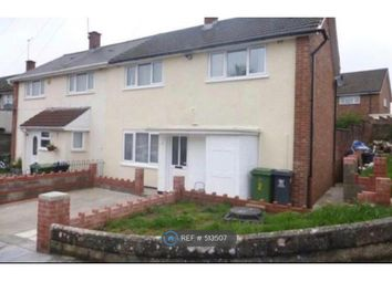 Thumbnail 3 bed semi-detached house to rent in Bronte Close, Llanrumney, Cardiff