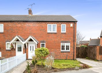 Thumbnail 2 bed semi-detached house for sale in Bradgate Close, Moreton, Wirral