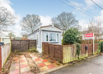 Thumbnail 1 bed mobile/park home for sale in Attwood Close, Basingstoke