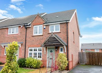 Thumbnail 3 bedroom end terrace house for sale in Greenway Road, Bilston