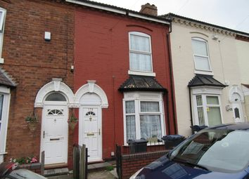 Thumbnail 3 bedroom terraced house for sale in Nechells Park Road, Nechells, West Midlands, Birmingham
