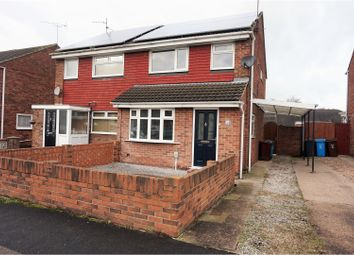 Thumbnail 3 bed semi-detached house for sale in Danby Close, Hull