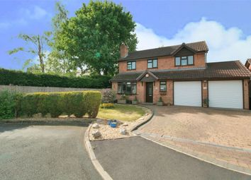 Thumbnail 4 bed detached house for sale in Crest Close, Stretton, Burton-On-Trent, Staffordshire