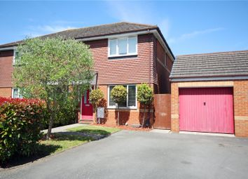 Thumbnail 3 bed semi-detached house for sale in Stepgates Close, Chertsey, Surrey