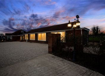 Thumbnail 5 bed equestrian property for sale in Sheering Lower Road, Sawbridgeworth, Hertfordshire
