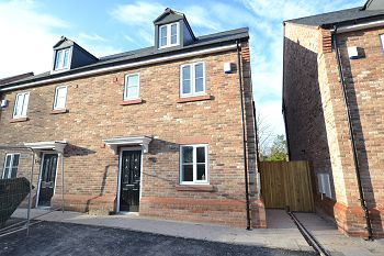 Thumbnail 4 bedroom semi-detached house for sale in Church Street, Davenham, Northwich
