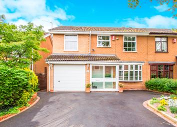 Thumbnail 4 bed semi-detached house for sale in Foxes Way, Balsall Common, Coventry