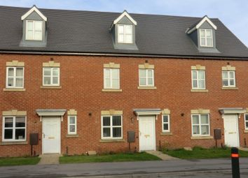 Thumbnail 4 bed terraced house to rent in Ashby Road, Coalville