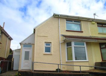 Thumbnail 2 bed semi-detached house to rent in Eigen Crescent, Mayhill, Swansea, City And County Of Swansea.