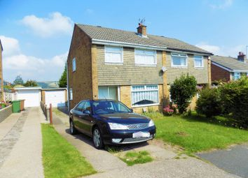 Thumbnail 3 bed semi-detached house for sale in Morlais Court, Caerphilly