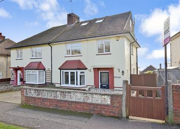 Thumbnail 4 bed semi-detached house for sale in Highdown, Southwick, Brighton, West Sussex