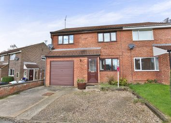 Thumbnail 3 bed semi-detached house for sale in Wordsworth Drive, Dereham