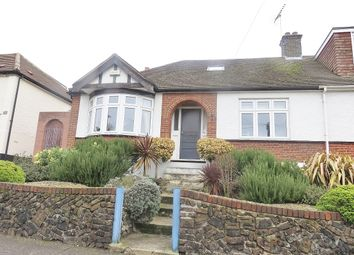 Thumbnail 3 bed semi-detached bungalow for sale in Hillside, Grays