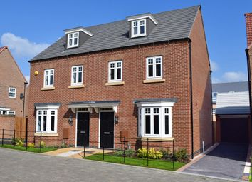 "Thumbnail 3 bedroom semi-detached house for sale in ""Kennett"" at Woodcock Square, Mickleover, Derby"