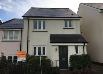 Thumbnail 3 bedroom end terrace house to rent in Chapel Park, Spreyton, Crediton