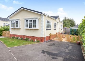Thumbnail 2 bed mobile/park home for sale in Eye Road, Brome