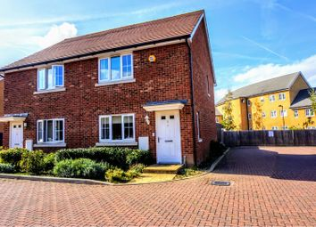 Thumbnail 3 bed semi-detached house for sale in Parsons Close, Longfield