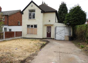 Thumbnail 3 bed detached house for sale in Chaucer Road, Walsall