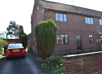 Thumbnail 3 bed semi-detached house for sale in Wood Lane, Newhall, Swadlincote