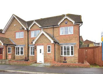 Thumbnail 3 bed semi-detached house for sale in Lodge Hill Lane, Chattenden, Rochester, Kent
