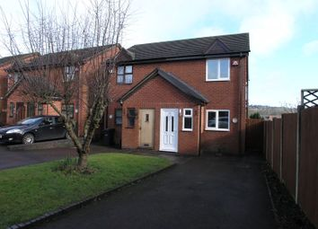 Thumbnail 2 bed semi-detached house to rent in Cinder Bank, Netherton, Dudley