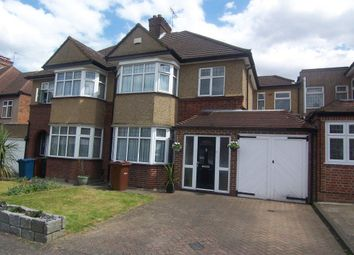 Thumbnail 4 bed semi-detached house to rent in Greenfield Way, Harrow